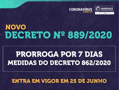 Decreto 889 de Maringá. Café com Jornalista