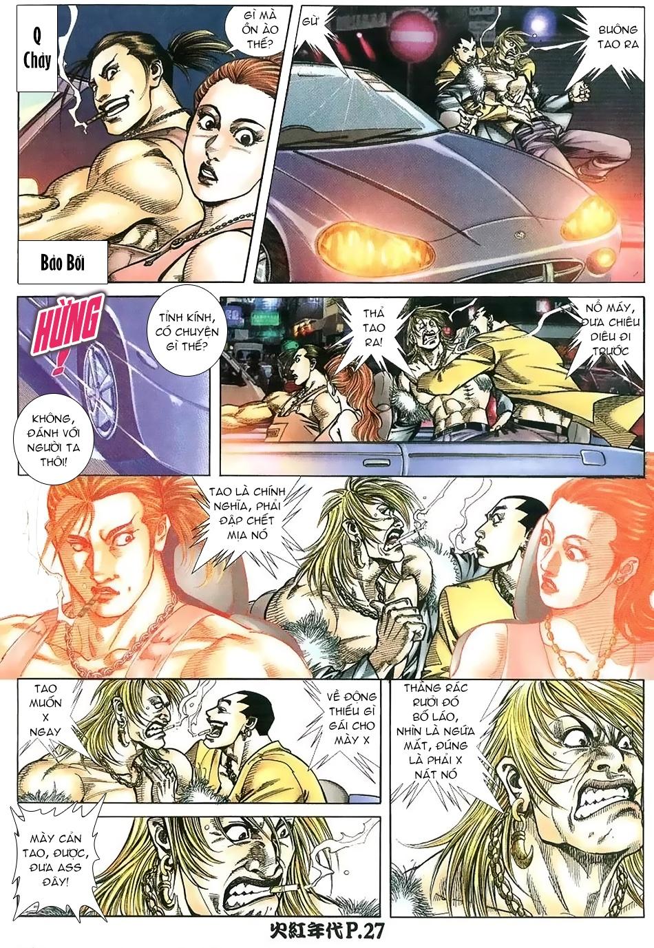 Hỏa Hồng Niên Đại Hắc Cốt Đường chap 112 - Trang 25