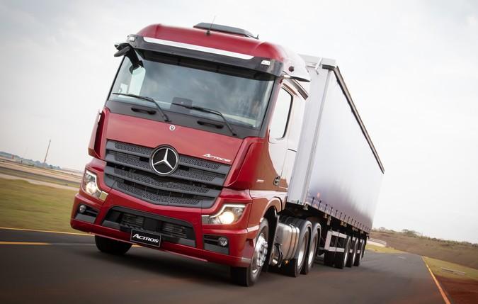 Mercedes-Benz apresenta Novo Actros com 530 cavalos de potência na Fenatran