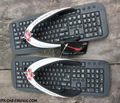 funny keyboard shoes