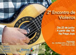 Encontro reúne violeiros e amantes da música raiz, neste sábado, 22, em Registro-SP