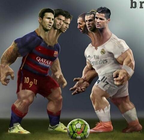 baddesthits: MSN VS BBC(messi X Suarez X neymar VS bale X ...