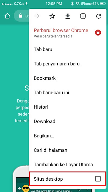 Cara Menyimpan Foto Profil Whatsapp- Dua HP 2
