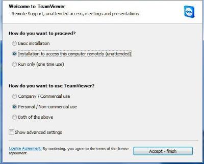 cara install teamviewer gratis