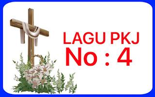 Lagu PKJ 4 Angkatlah Hatimu Pada Tuhan