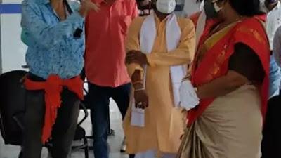 राज्य सभा सांसद ने किया सिविल हॉस्पिटल नैनपुर का निरीक्षण | Mandla nainpur news
