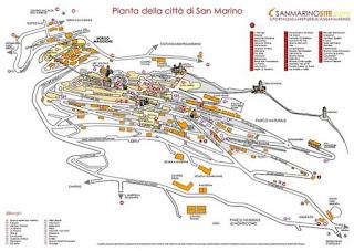 Borgo Maggiore y Ciudad de San Marino.