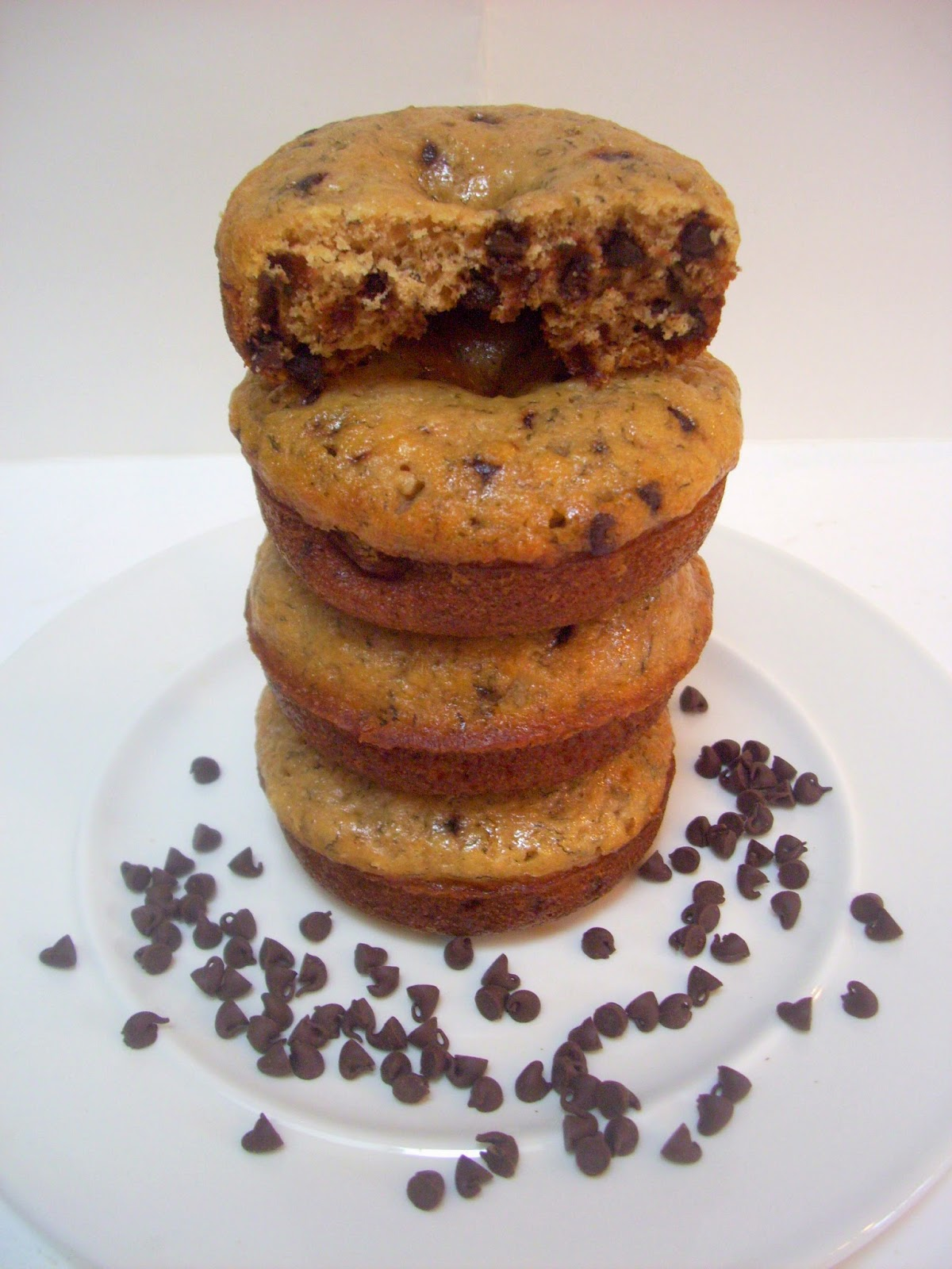 Banana Bread Chocolate Chip Donuts! Recipe