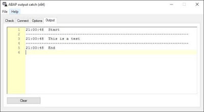 Output Catcher for ABAP