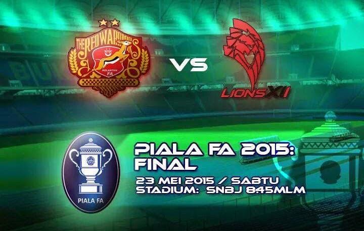 Kelantan Dan Lions XII Akan Berentap Bagi Merangkul Kejuaraan Piala FA