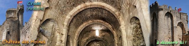 http://lafrancemedievale.blogspot.fr/2017/11/cruas-07-le-chateau-des-moines.html