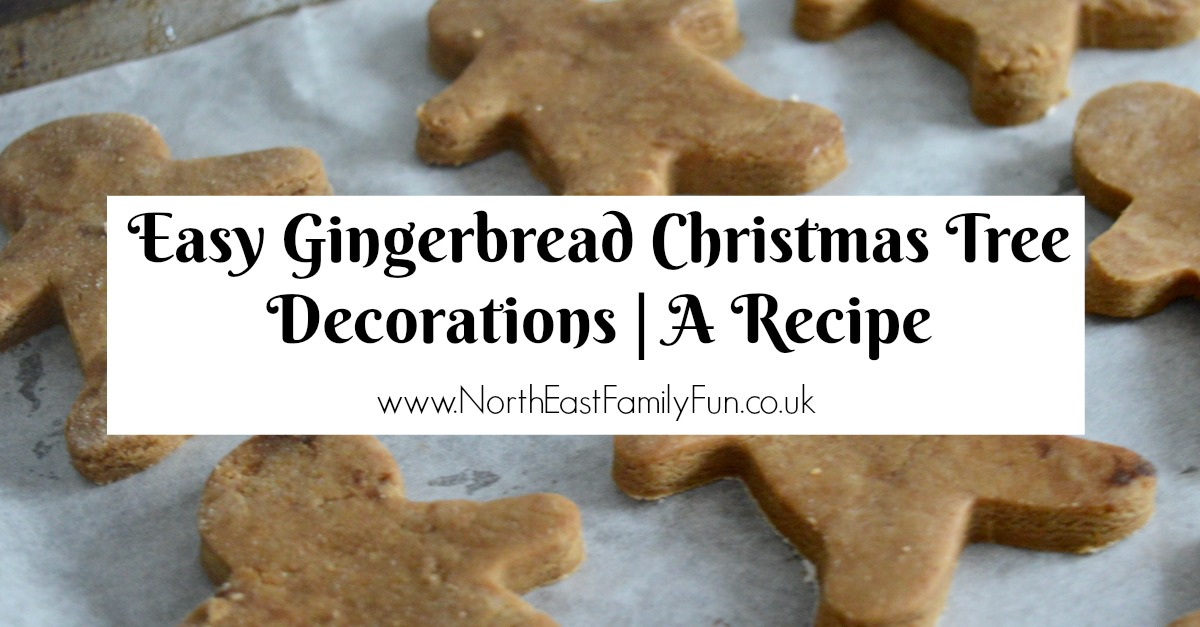 Easy Gingerbread Christmas Tree Decorations | A Recipe