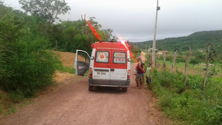 Grave acidente é registrado na zona rural de Cuité