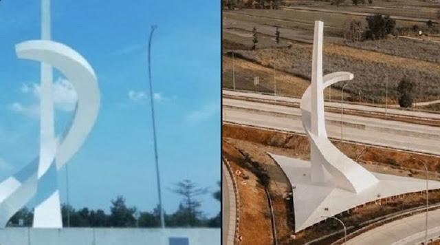 Roy Suryo Ungkap Patung Besar Mirip Lambang PKI di Madiun