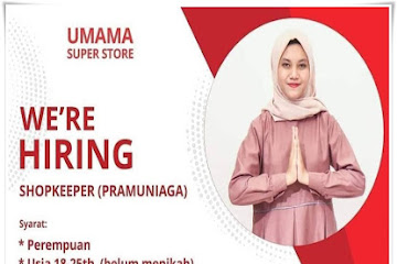 Lowongan Kerja Shopkeeper Bandung