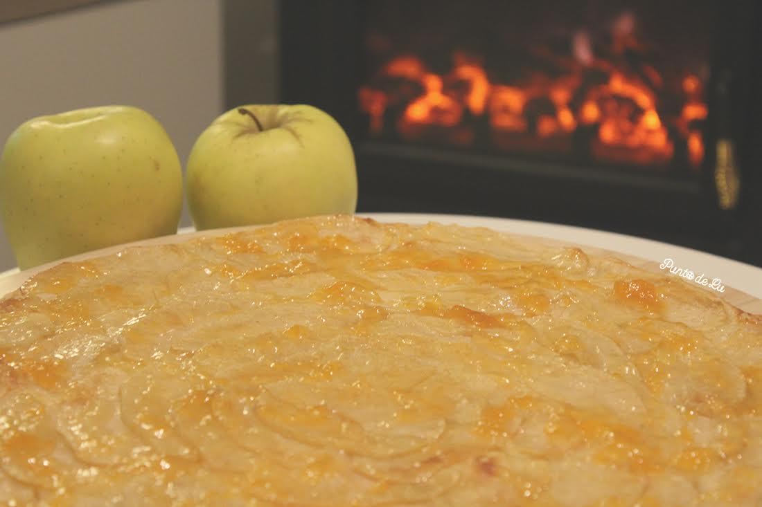 Tarta de manzana - Punto de Lu
