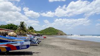 Pacific beach Nicaragua