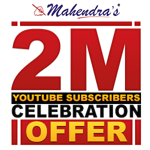 2 MillionSubscribers Celebration Offer On Admissions