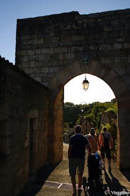 La via che dall'Hospitalet conduce a Rocamadour
