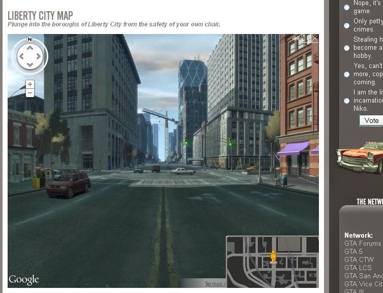 Grand Theft Auto IV   Google Street View?! | Quatro rodas e um volante!