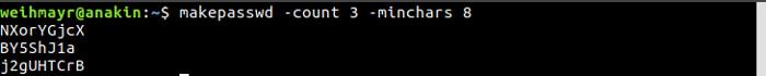 gerar senha no ubuntu linux no terminal de comando