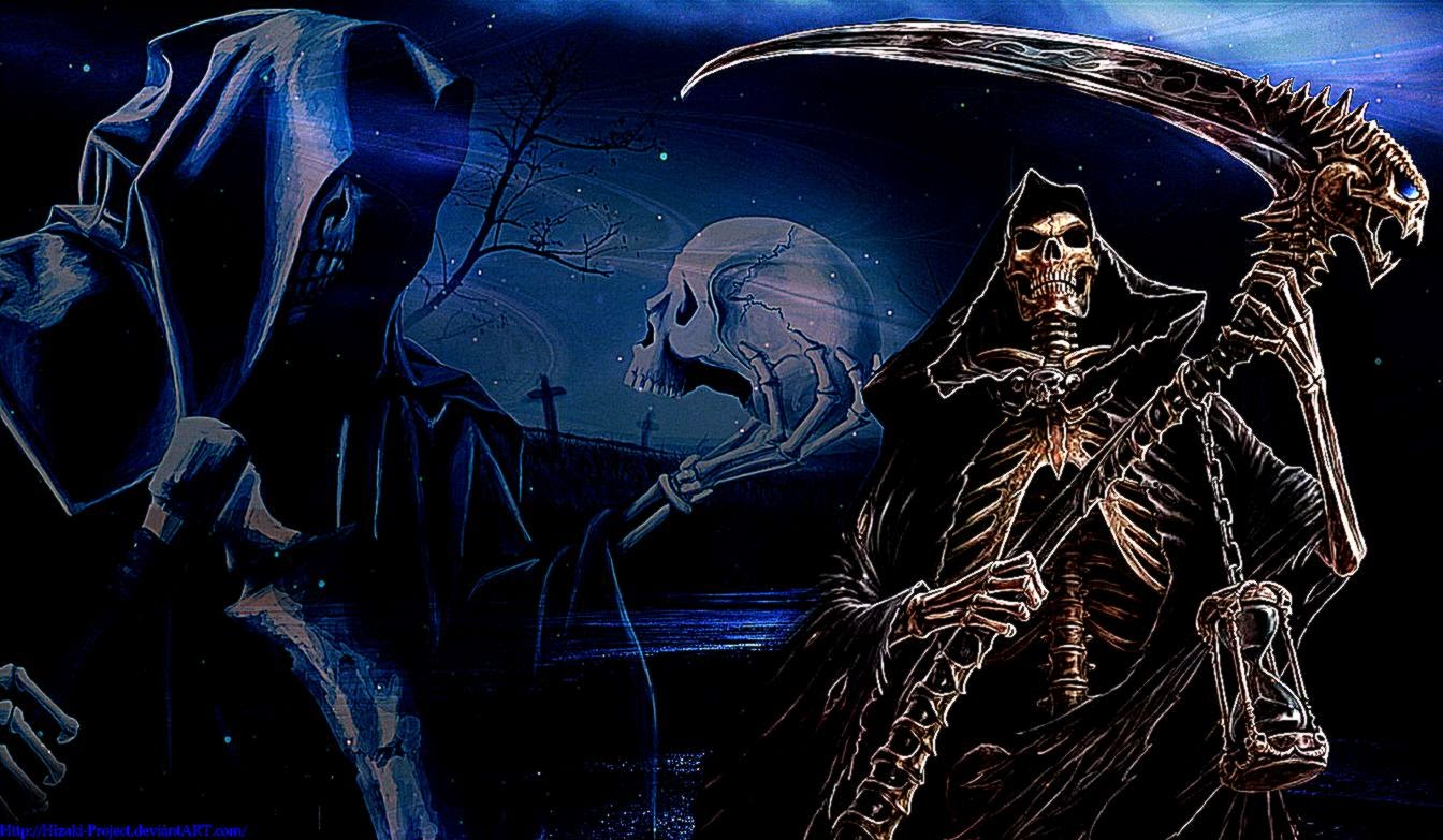Death Reaper Hd Wallpaper | Best Wallpapers