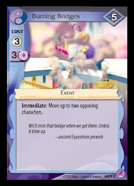 My Little Pony Burning Bridges Seaquestria and Beyond CCG Card