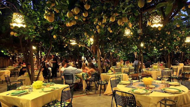 Restaurante Da Paolino Lemon Trees em Capri