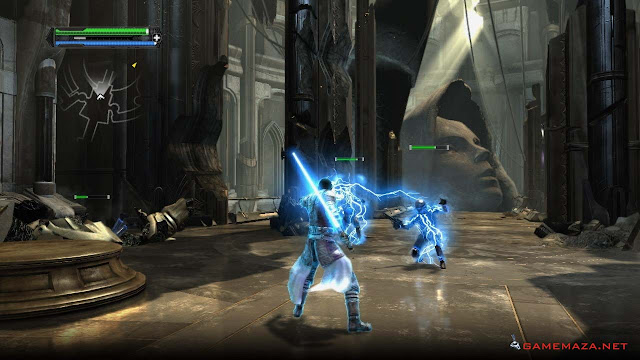 Star Wars The Force Unleashed Gameplay Screenshot 2