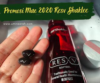 Promosi Mac 2020 Produk Baru Resv Shaklee