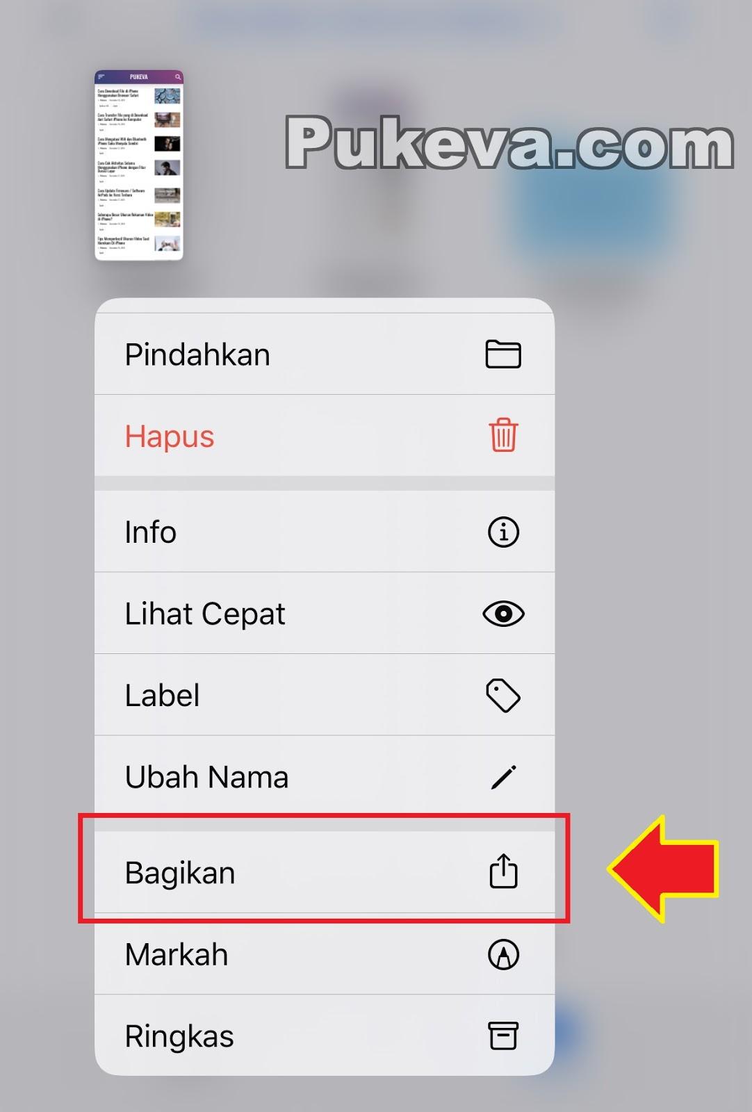 Cara Screenshot Panjang / Full Halaman di iPhone  PUKEVA
