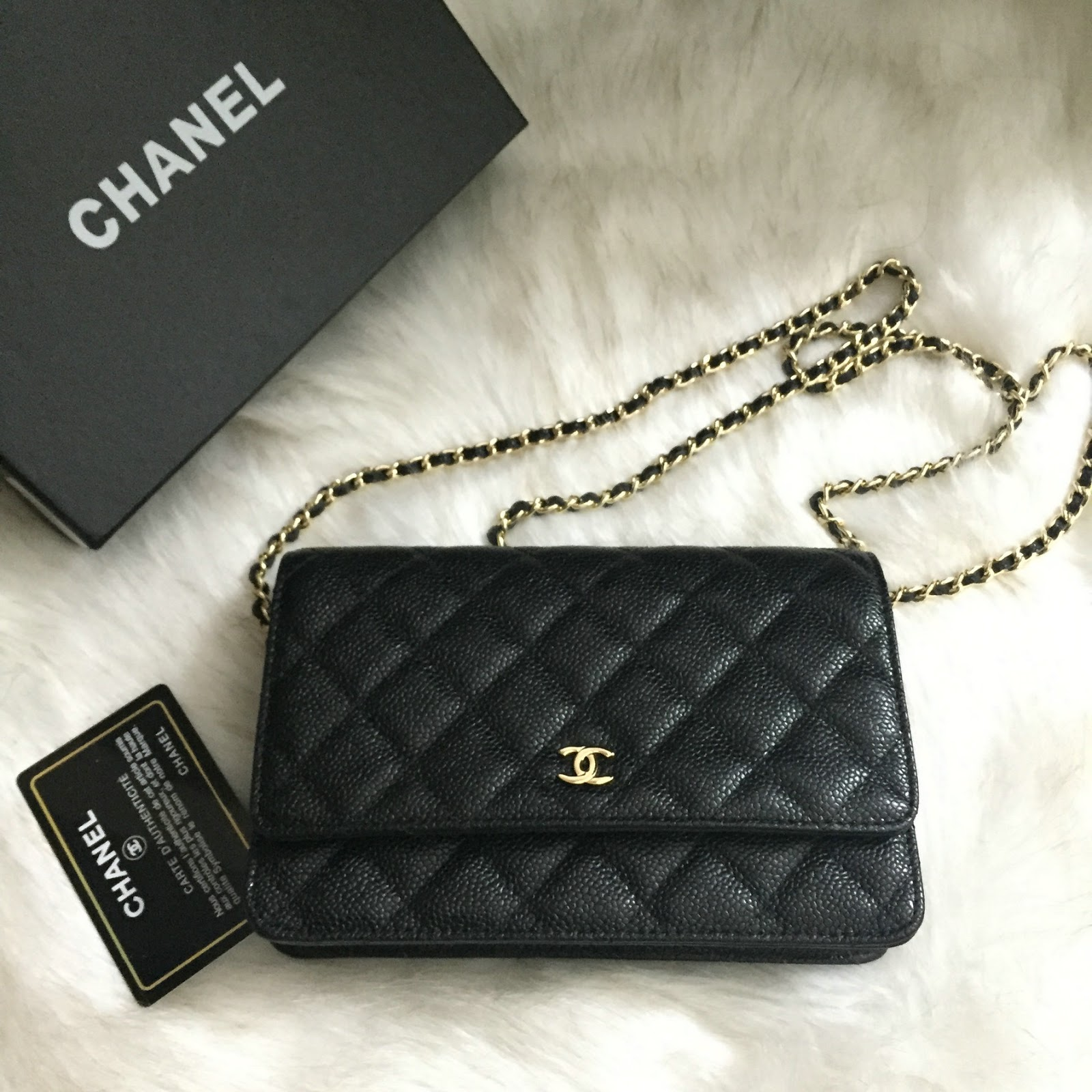 Pre Shipment Photos Of Chanel Woc 20cm In Caviar Leather Best Original Quality