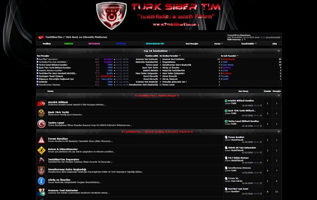 Vbulletin Turk Hack Team Teması Tam Boy