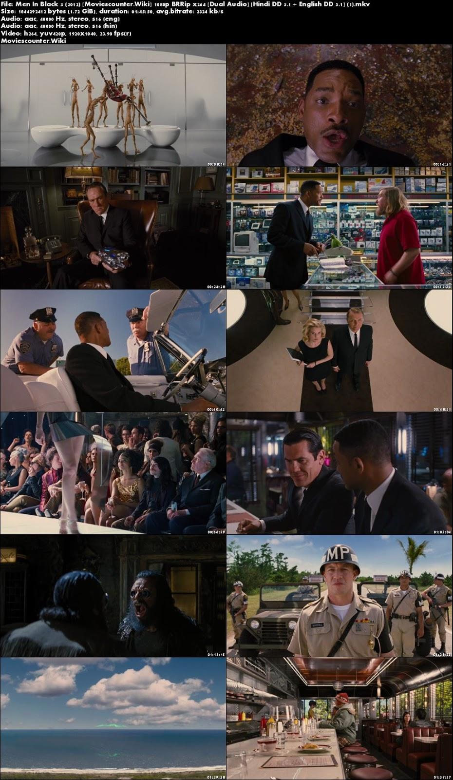 Screen Shots Men in Black 3 2012 Dual Audio HD 720p