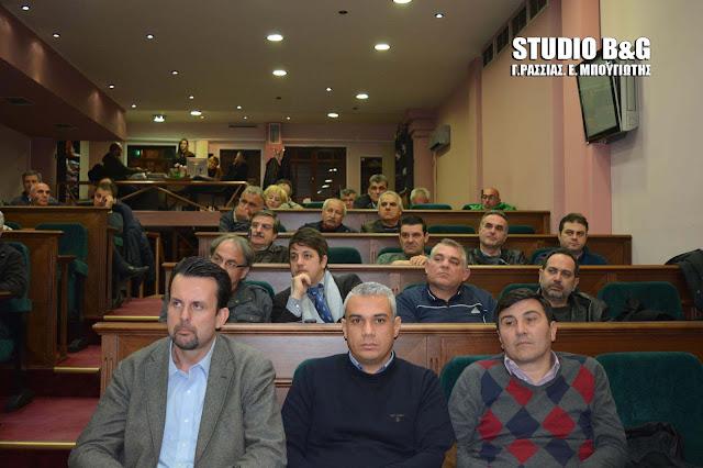 Δημοτικό Συμβούλιο στο Άργος στις 26 Σεπτεμβρίου 2018