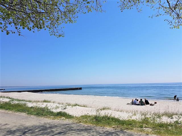 vacker strand i Skåne