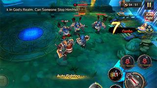 Burning Blood War Beween Races Apk Mod Online Higt Damage Terbaru 2017