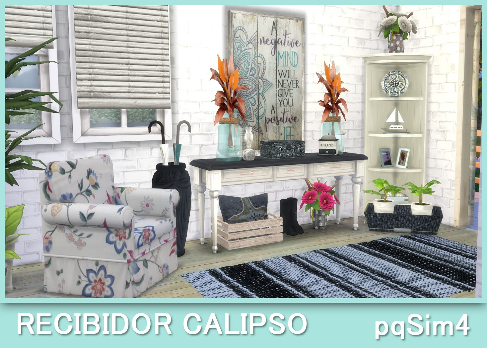 Muebles Sims 4 Recibidor Calipso Sims 4 Custom Content