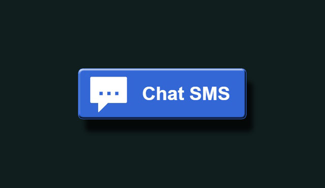 SMS Chat Button