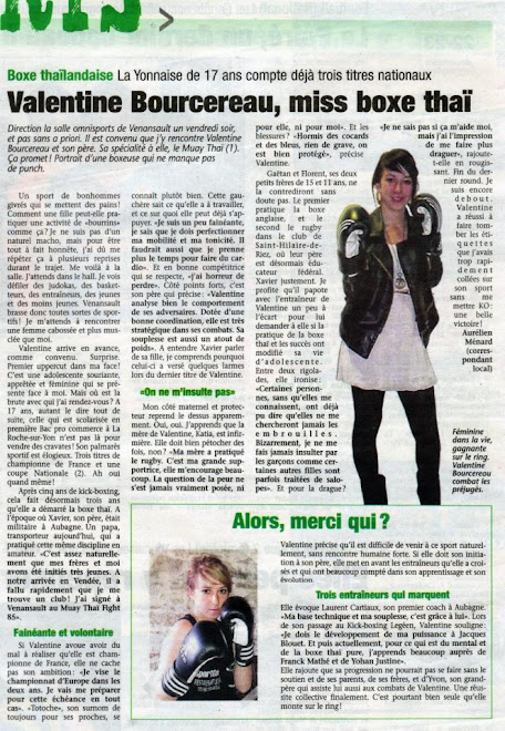 ARTICLE DU JOURNAL DU PAYS YONNAIS DU 20/12/12