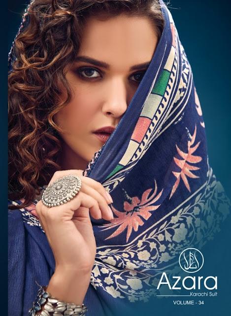 Radhika Azara vol 34 Salwar Kameez catalog