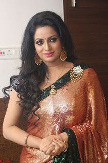 Udaya Bhanu lookssizzling in a Saree Choli at Gautam Nanda music launchi ~ Exclusive Celebrities Galleries 060.JPG