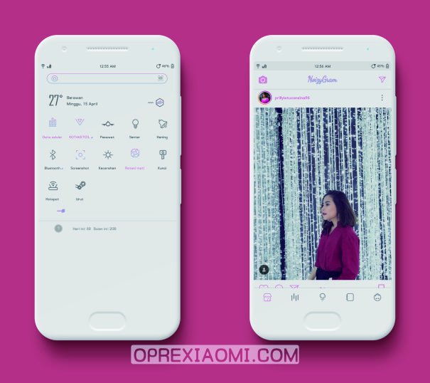 Download Tema Xiaomi Miui Noizy Mtz Terbaru