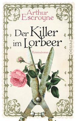 """""""Der Killer im Lorbeer"""" von Arthur Escroyne, Krimi"""