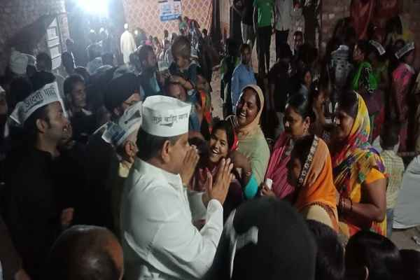aap-candidate-dharambir-bhadana-appeal-to-vote-for-him-badkhal
