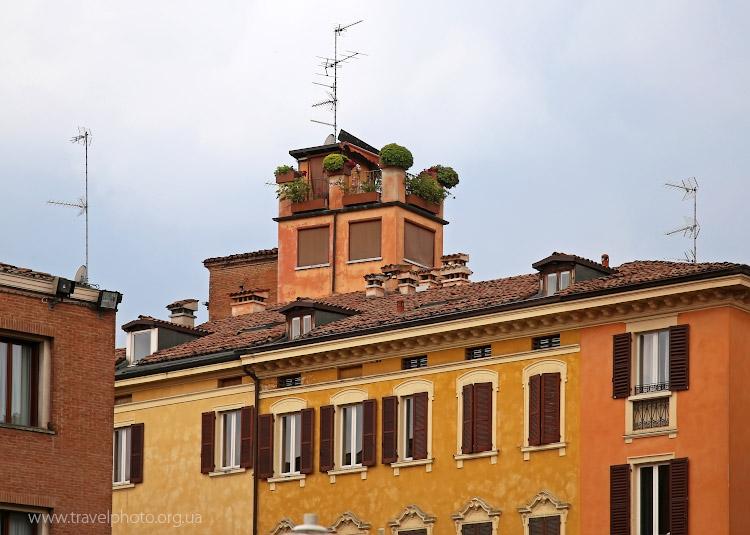 Сад на крыше, Модена, Италия