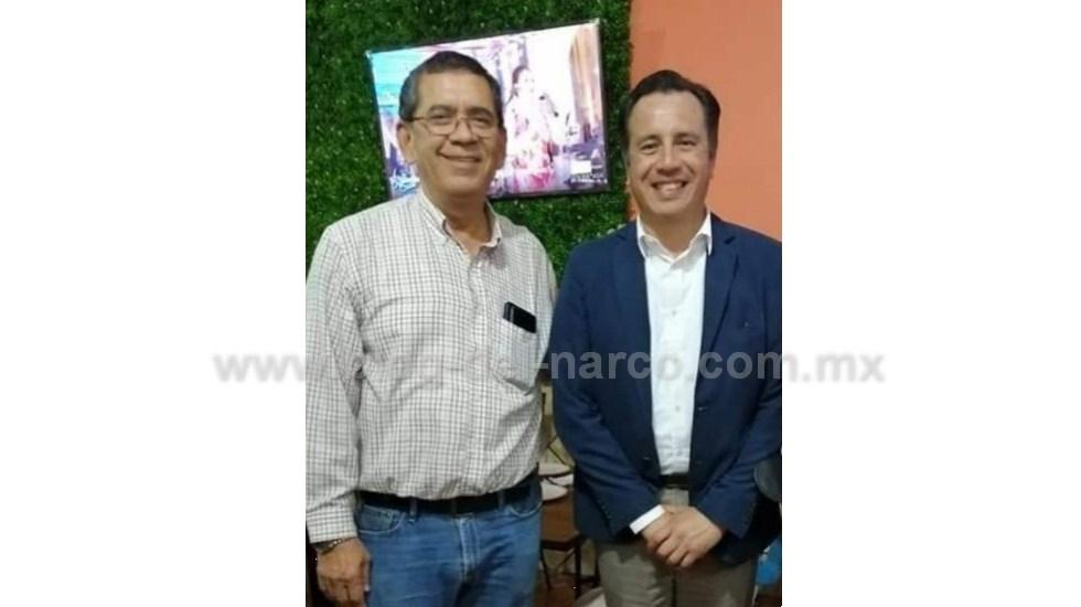 Francisco Navarrete Serna Jefe del CJNG asesinado, tenia nexos con varios miembros de MORENA incluso se reunió con Cuitláhuac García Jiménez Gobernador del Estado de Veracruz