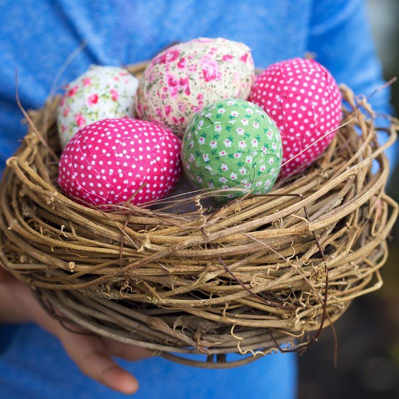 Easter egg decorating ideas - Shabby chic Easter Eggs