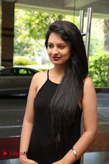 Actress Nikita Bisht Pictures in Black Long Dress at Akritti Elite Exhibition Launch  0007.jpg