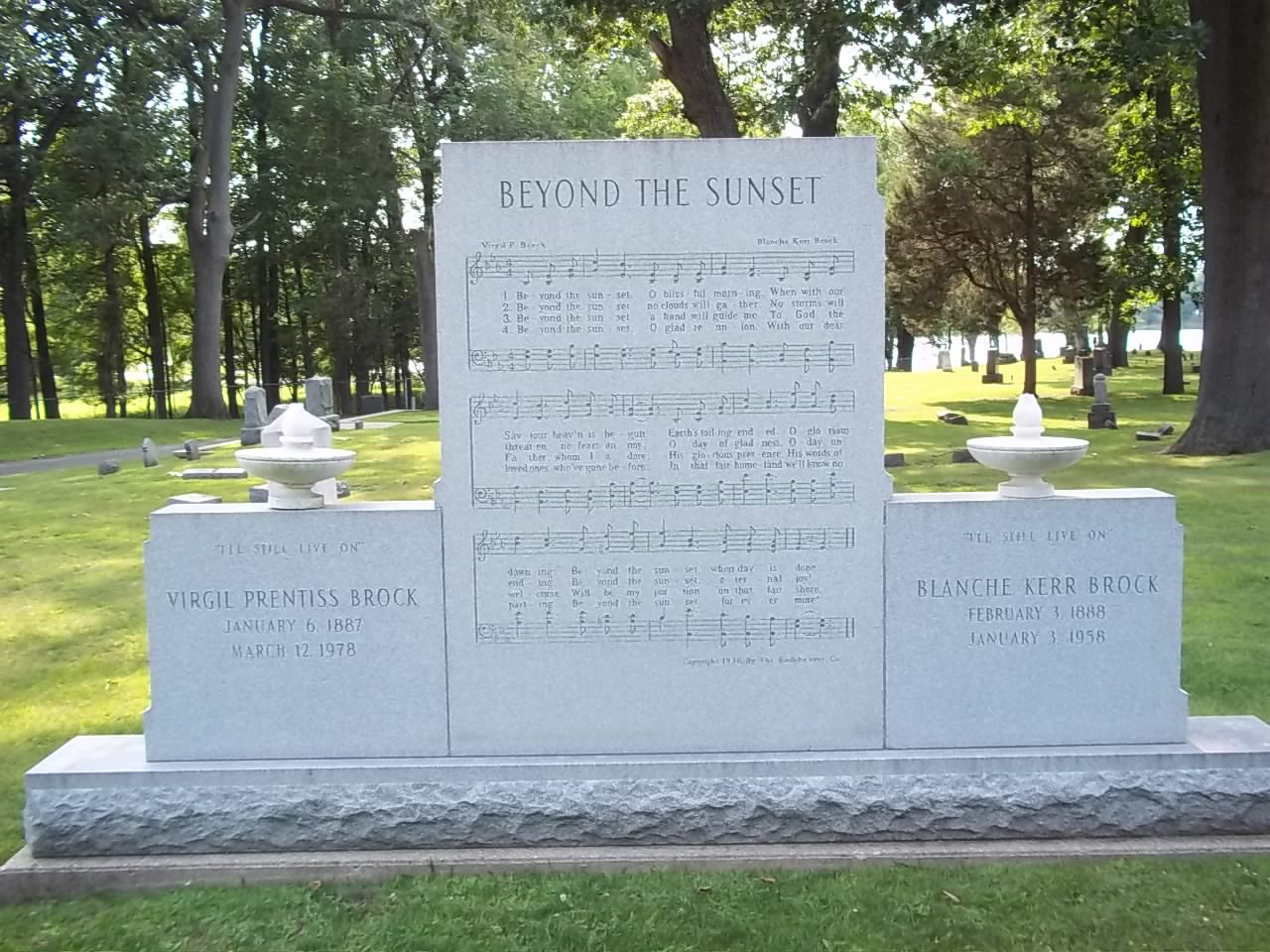Image result for Oakwood Cemetery Warsaw, Indiana